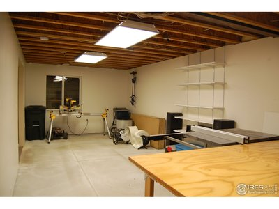 W/ Space for Workshop, Band Practice or Playroom
