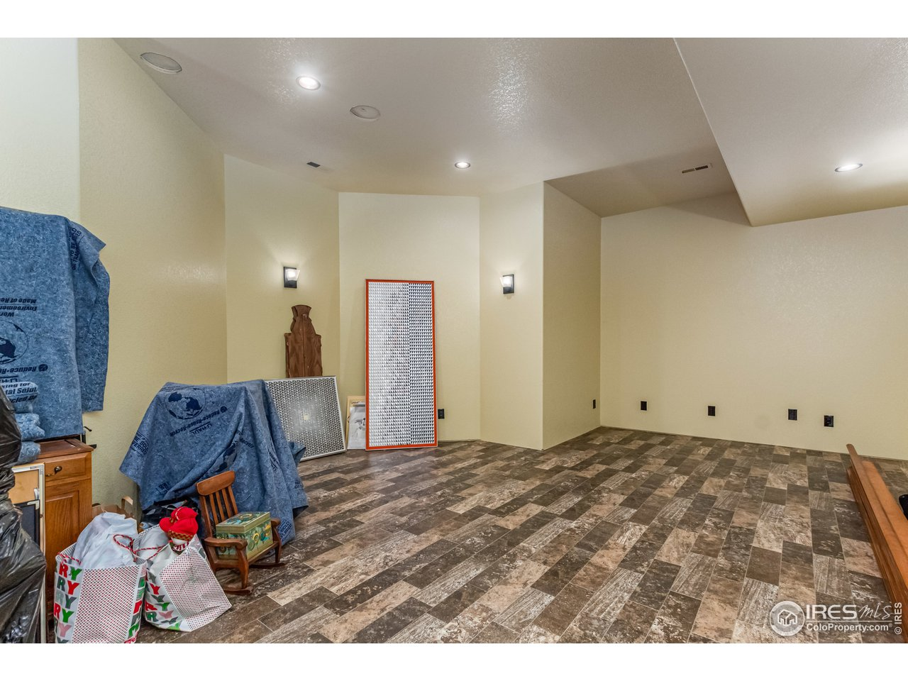 Basement Theater Room or addtional flex space