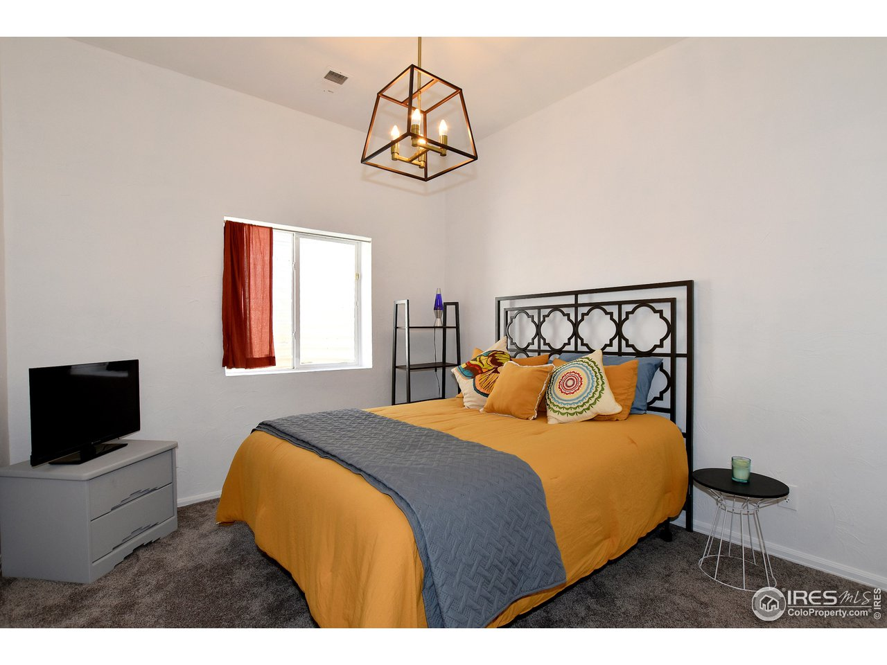 Basement Bedroom # 4, Light and Bright with Walk-in Closet