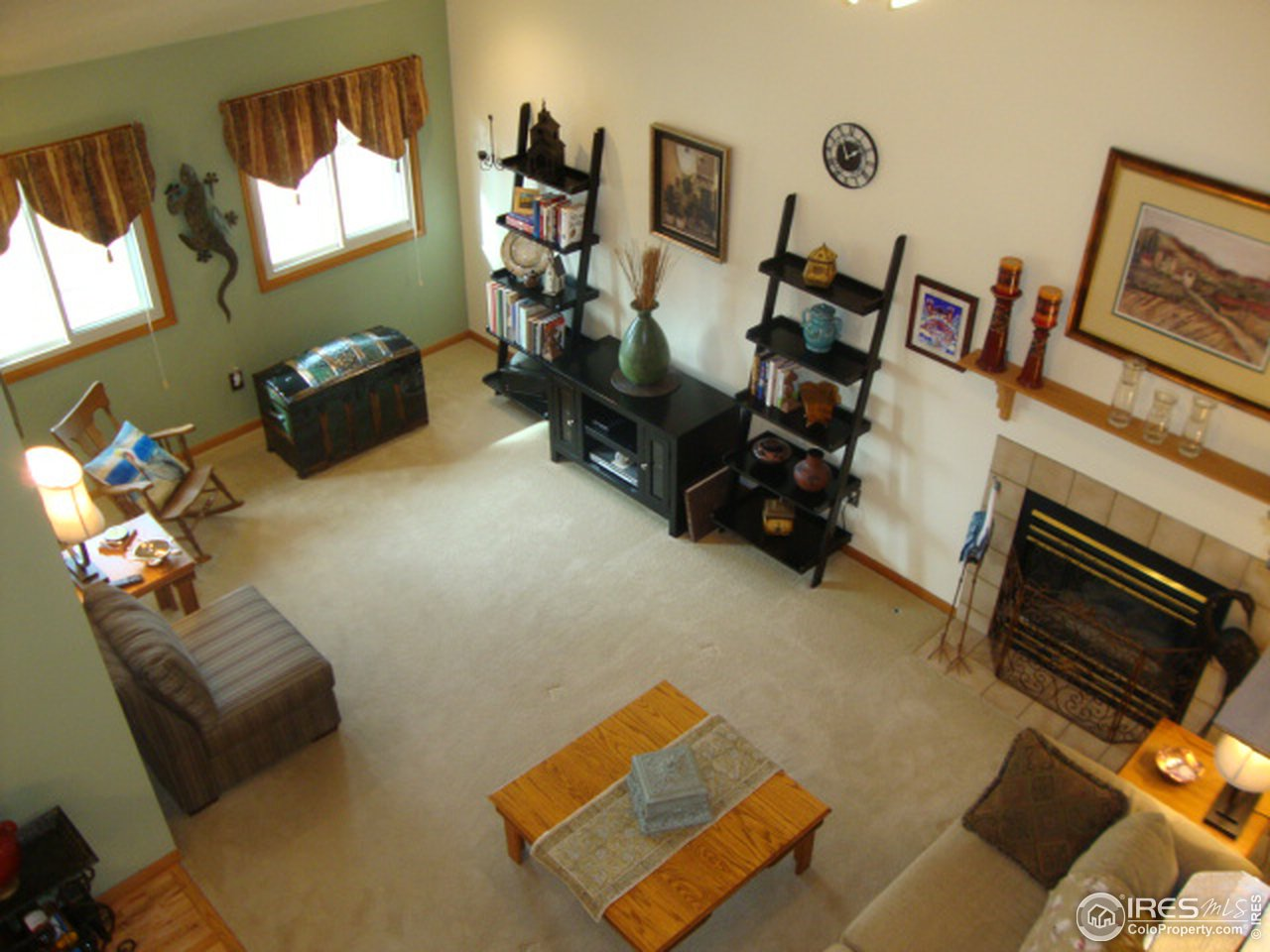 Cozy and comfortable family room