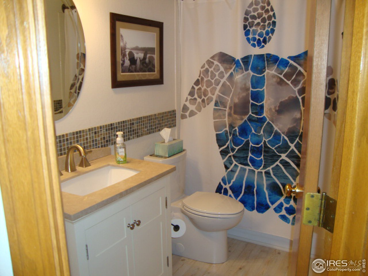 Master bath...nicely done and updated