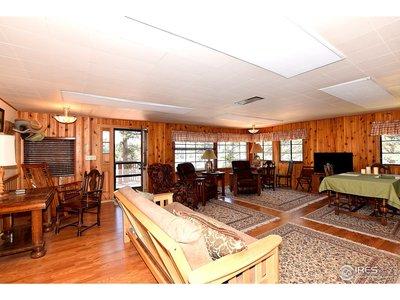 Huge open living room