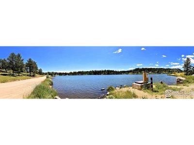 Ramona Lake (cabin to the left)