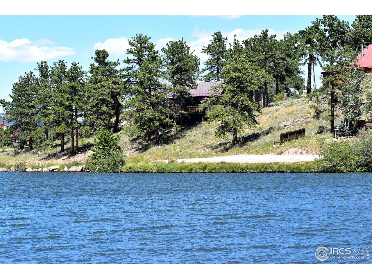 From across Ramona Lake