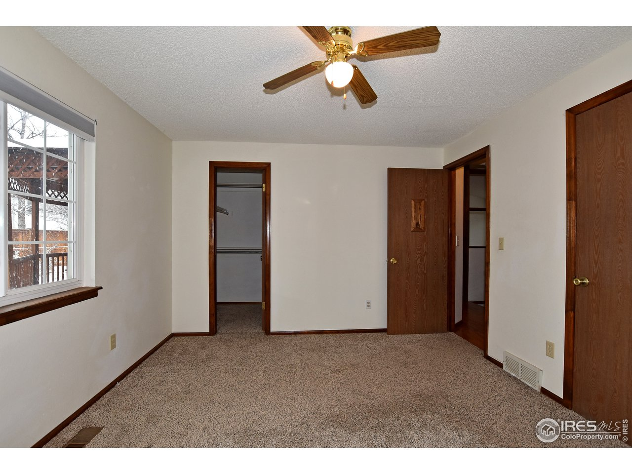 Bedroom 2, with double closets!