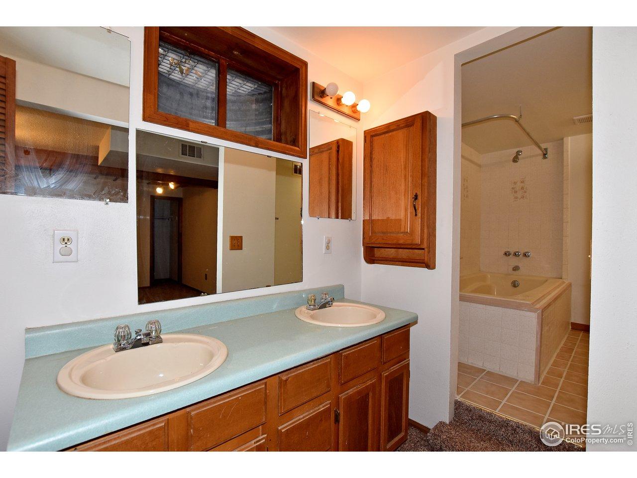 Nice, large bathroom!