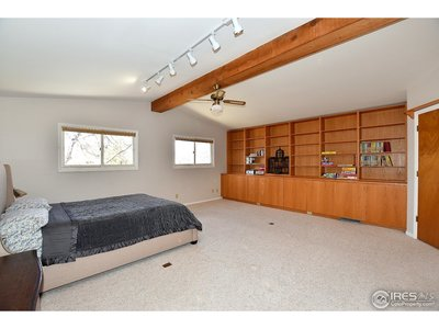 4th bedroom/bonus, rec, game room with built-ins