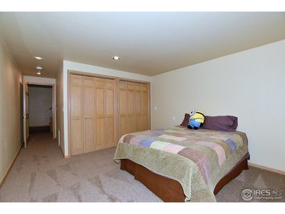 5th bedroom in basement