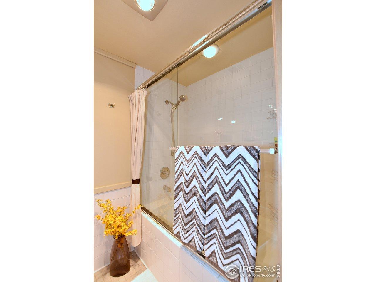 Basement tub/shower