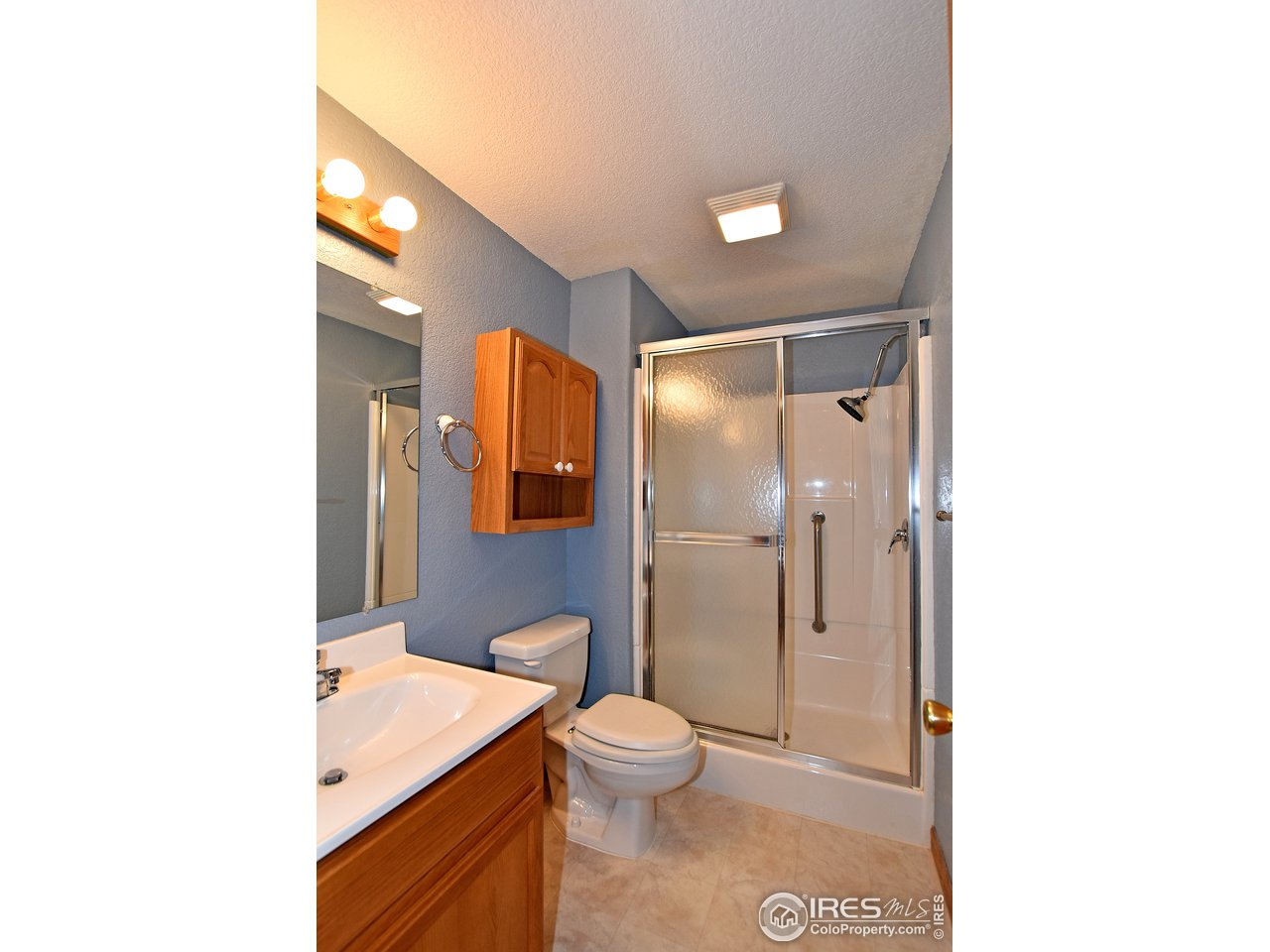 3/4 bathroom in basement