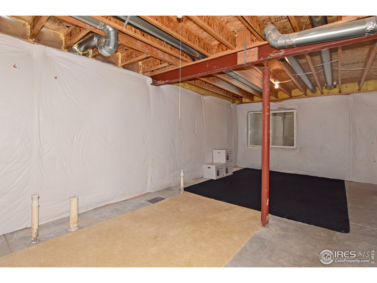 Rough-in plumbing in basement for future expansion.
