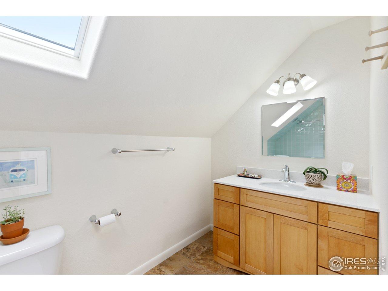 3rd bathroom on 2nd level