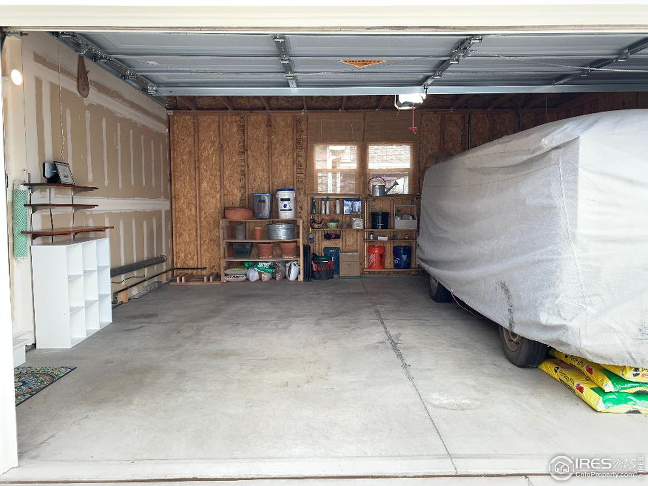 Spacious two car garage