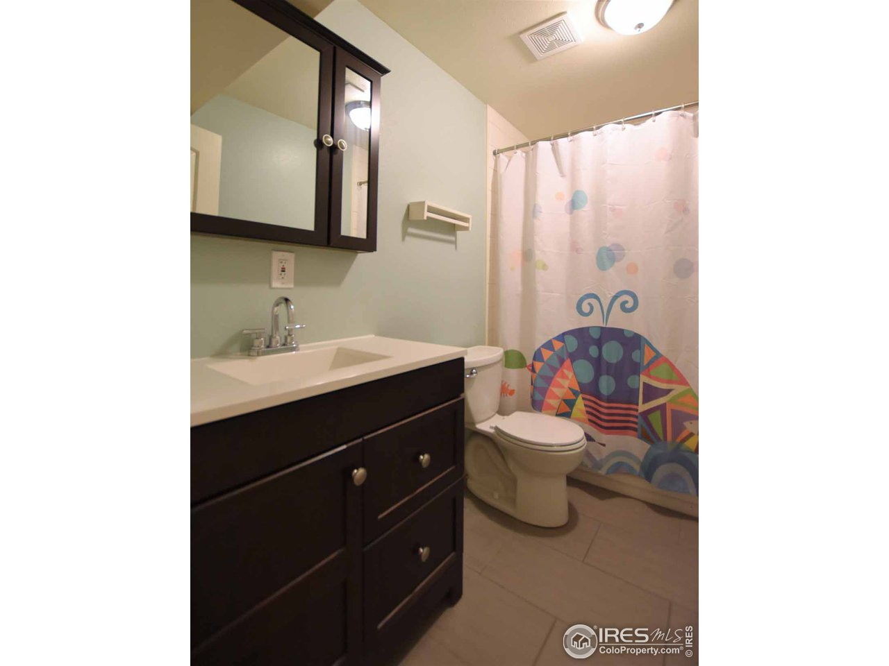 Basement bath with the same great updates!