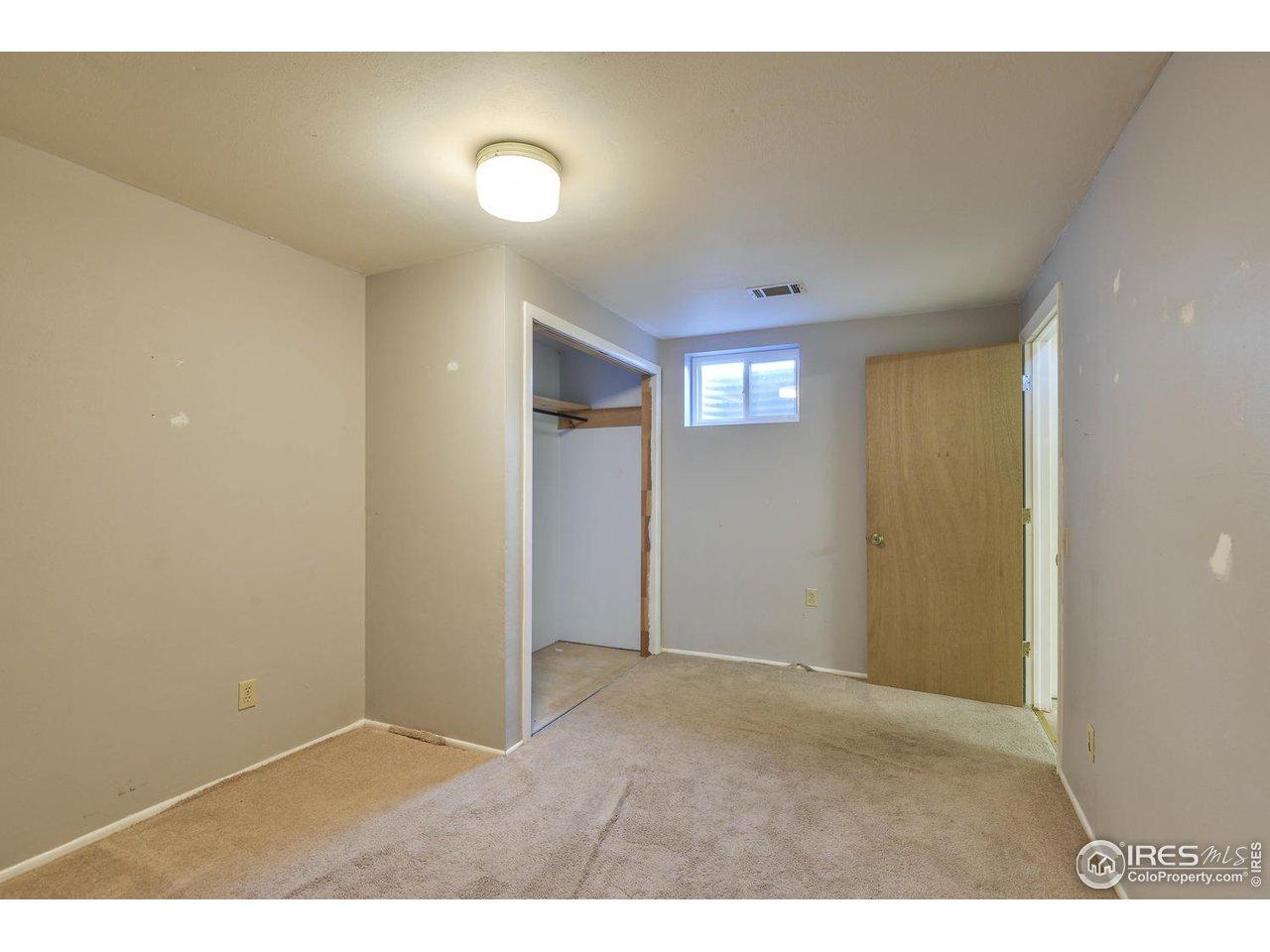 Downstairs bedroom very spacious
