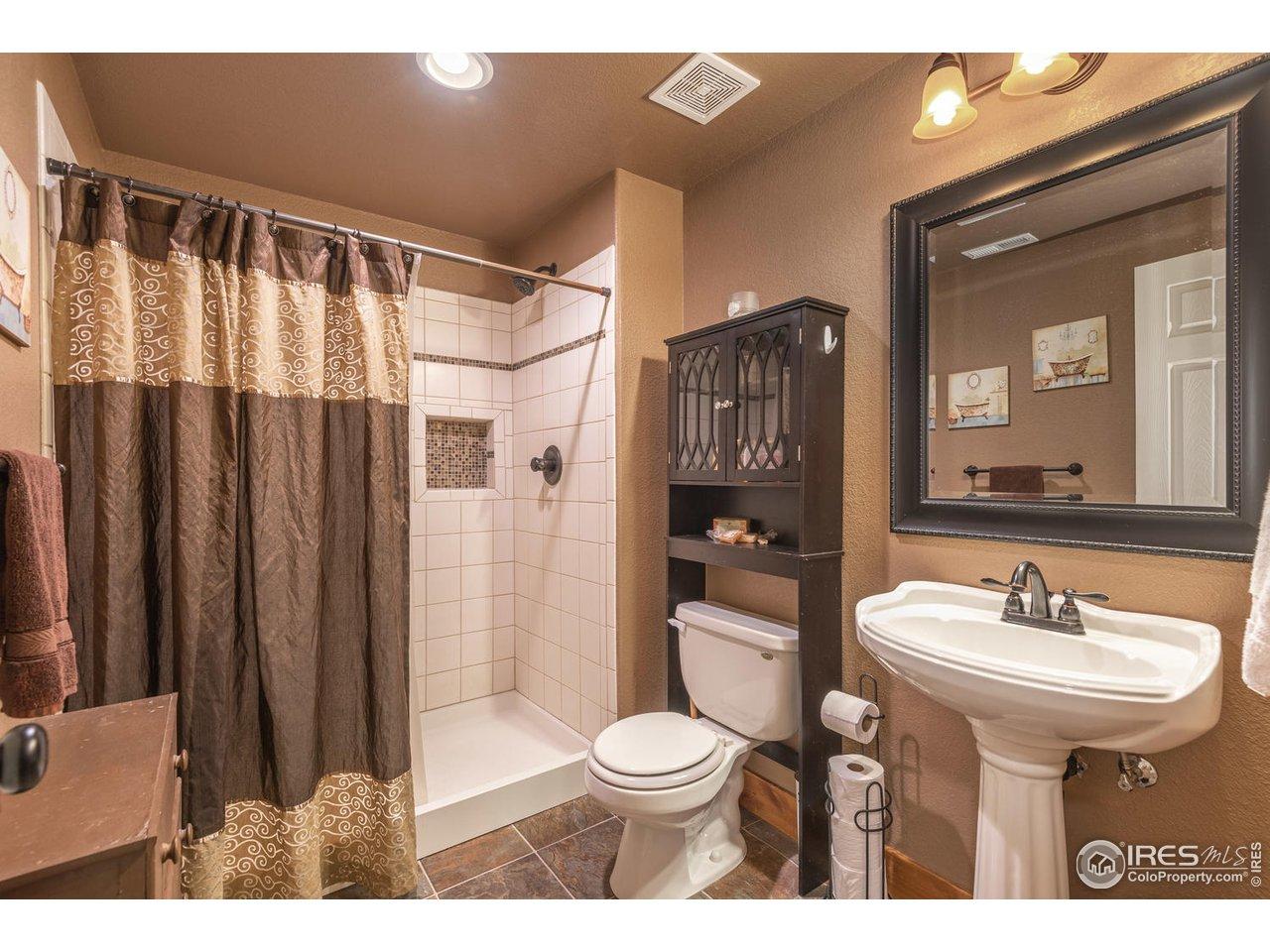 3/4 basement bath