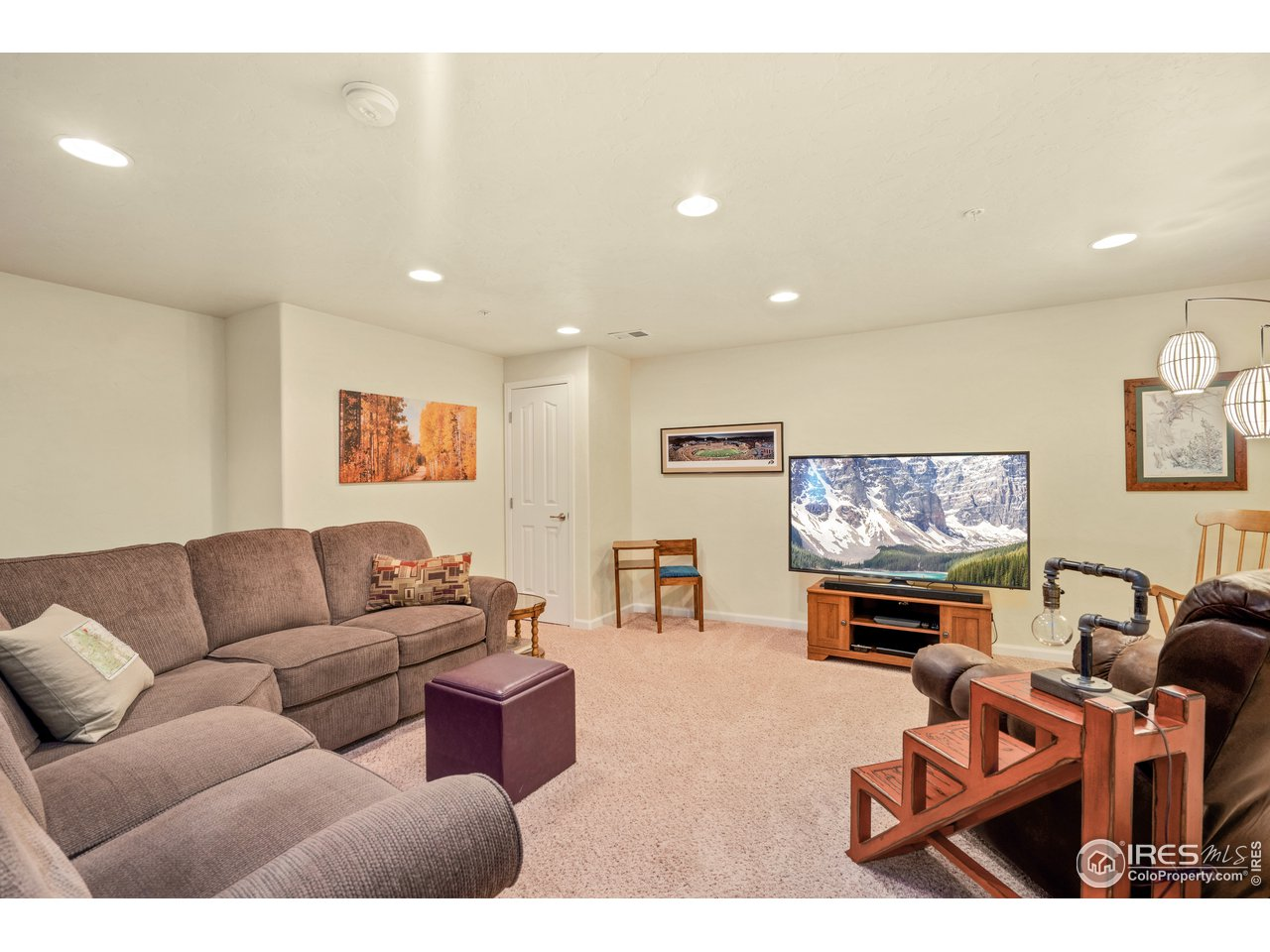 check out the amazing finished basement