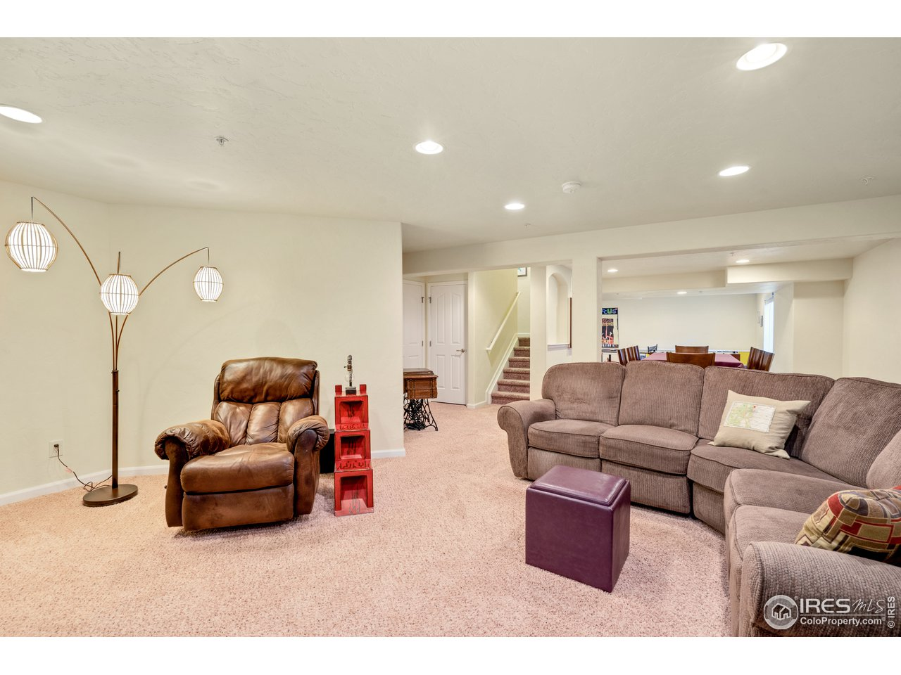 family room for movie night!