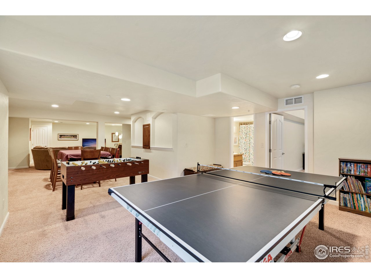 even room for ping pong and foosball!