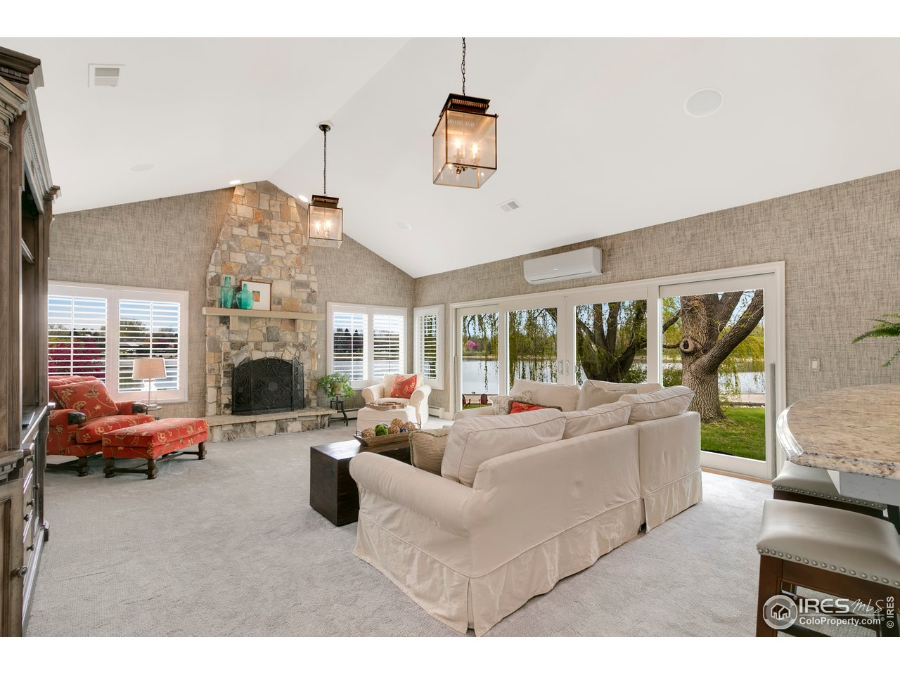 Great Room and outdoor Patio access off of Kitchen