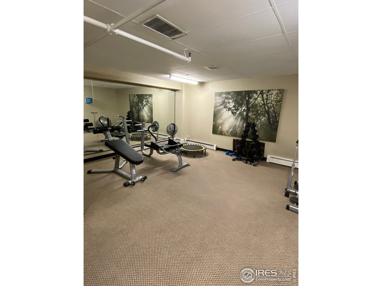 additional exercise room