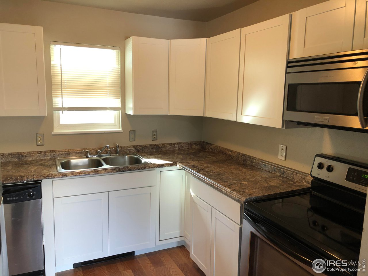 New Cabinets and Countertops in Kitchen