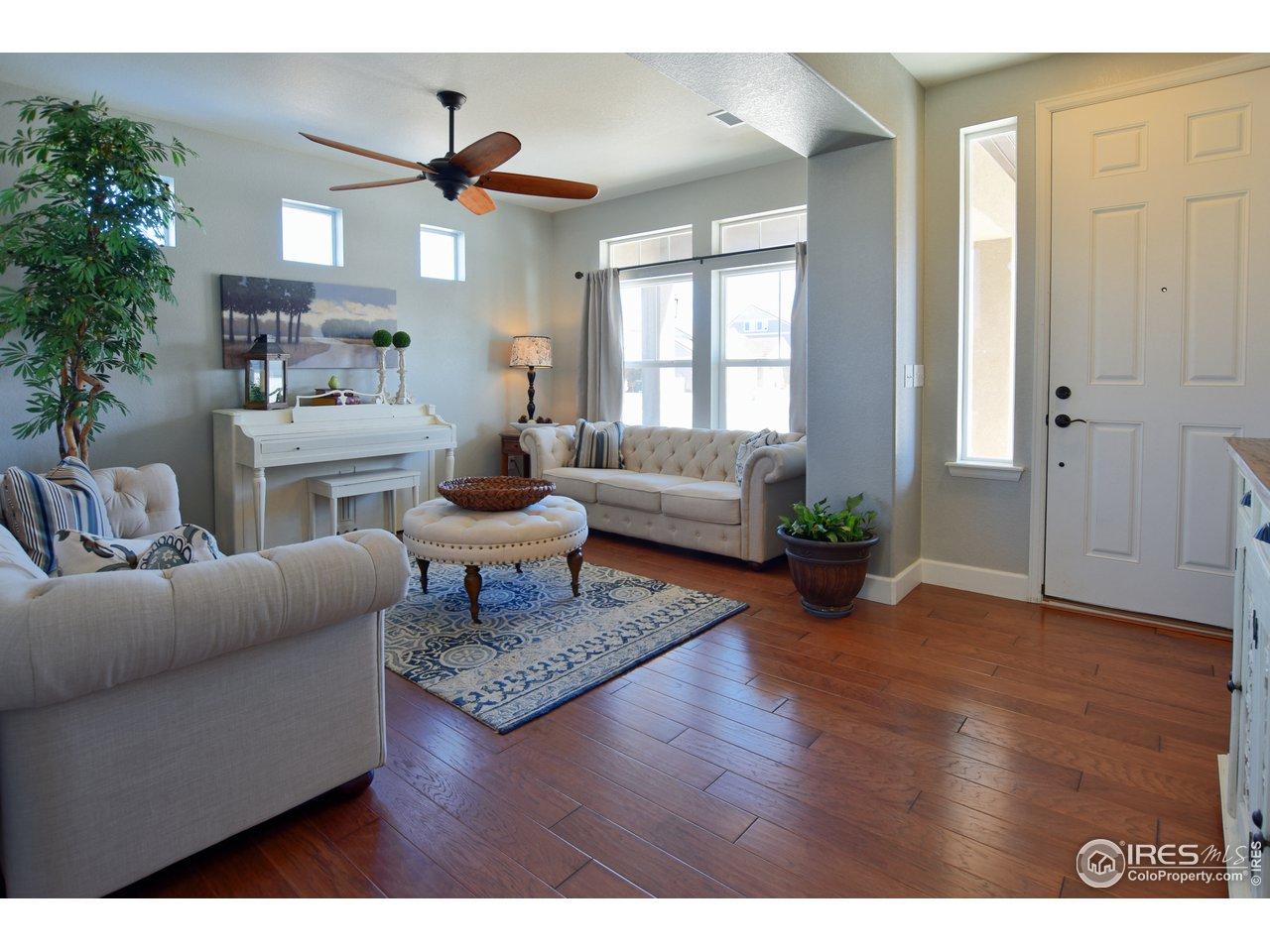 Beautiful hardwood floors