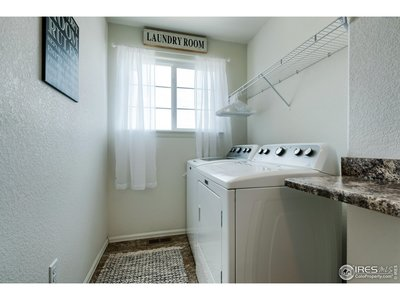 Nice size upstairs laundryroom