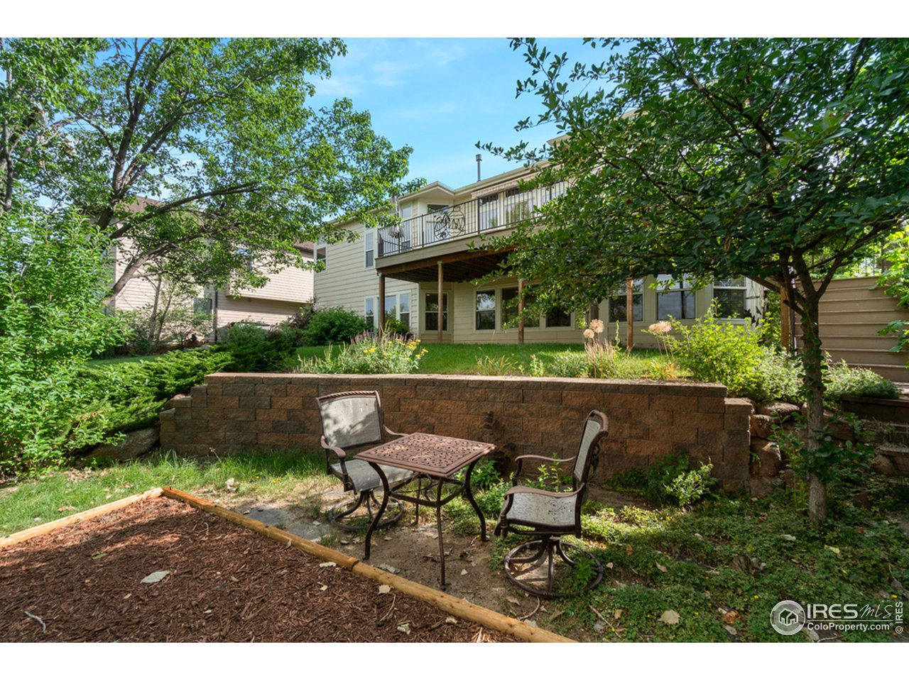 Back Elevation/Lower Patios/Great Privacy