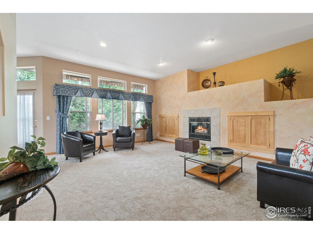 Family/Great Room with Fireplace