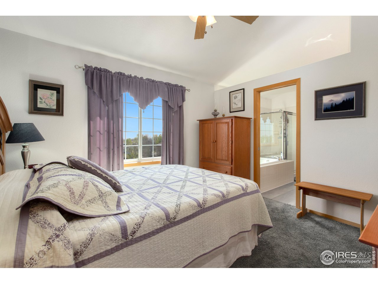 Master Bedroom with Open Space Views