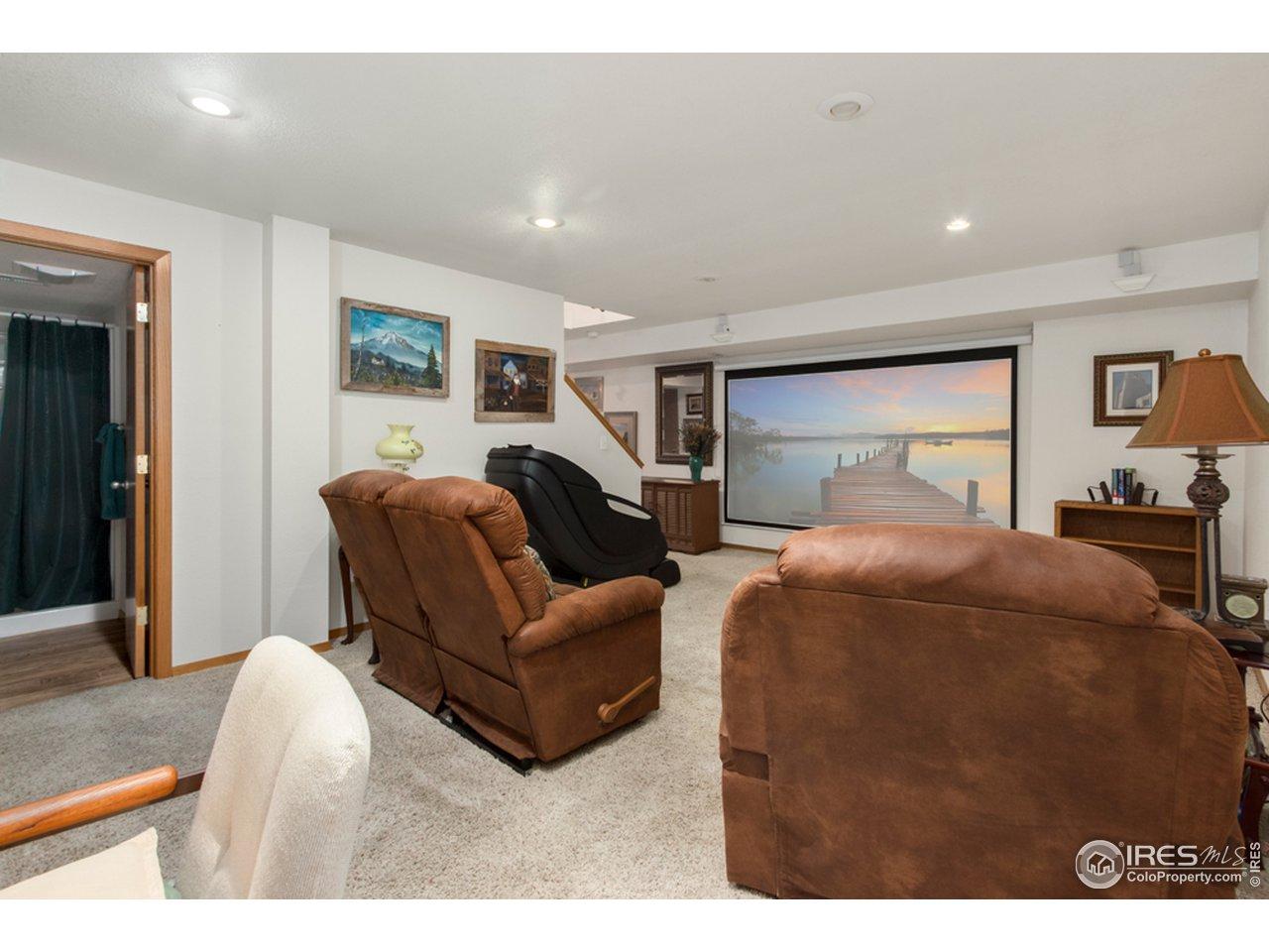 BasementFamily/Media/Bedroom Flex Area