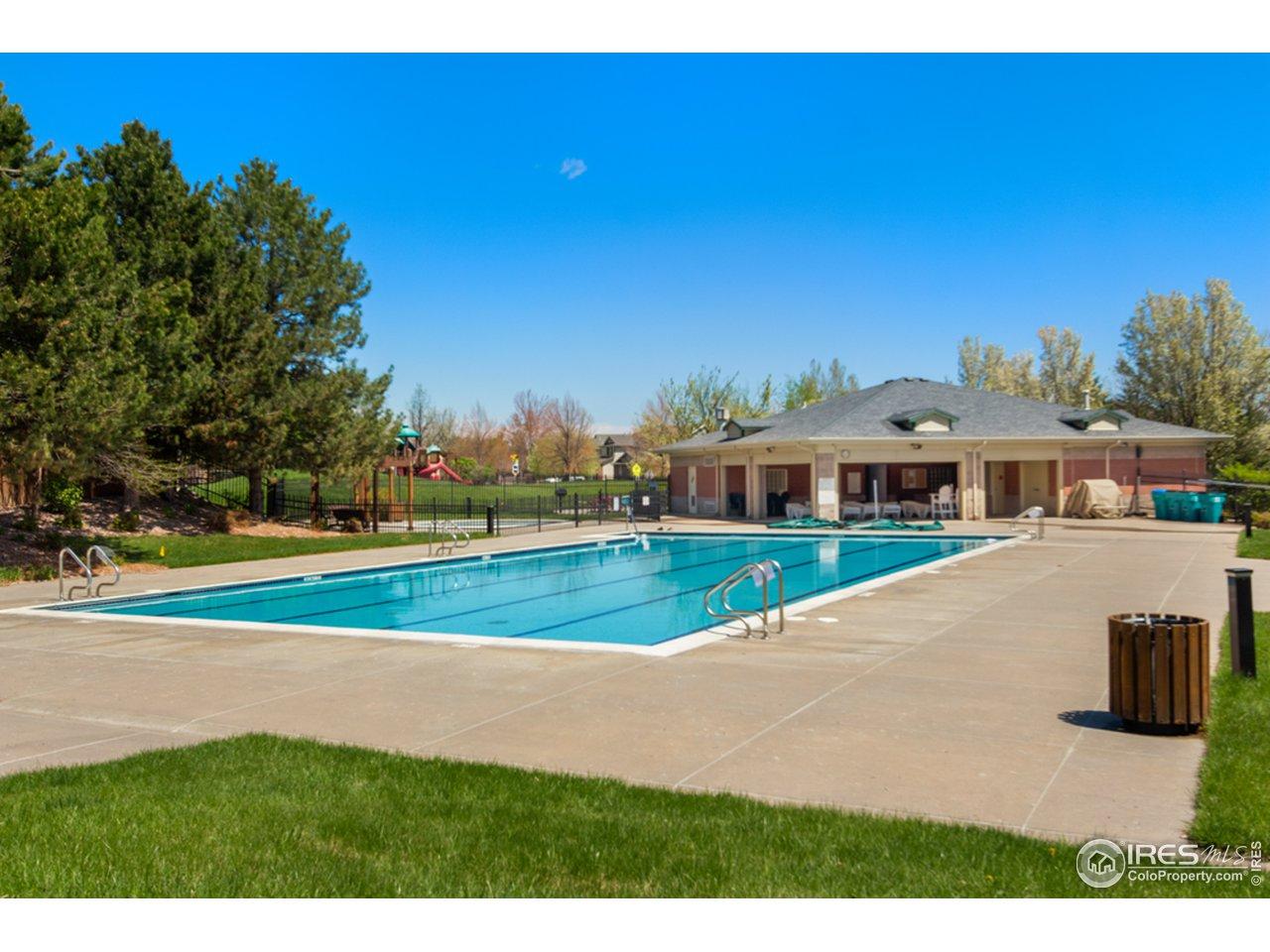 Neighborhood Pool with Optional Membership