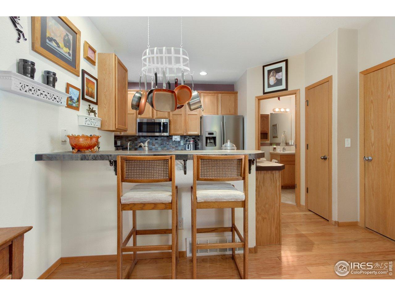 Kitchen/Pantry/Half Bath