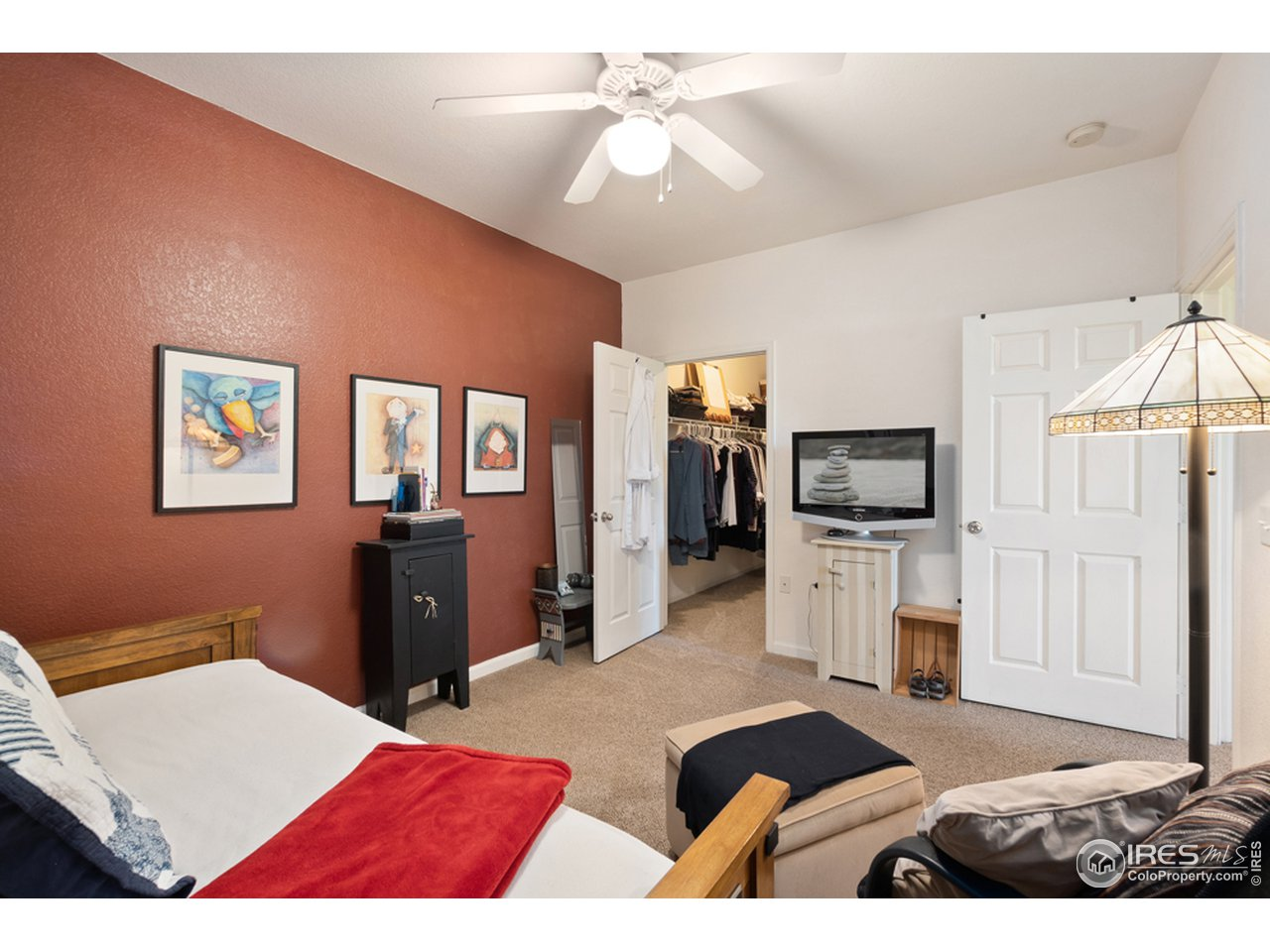 Bedroom/large walk-in closet.