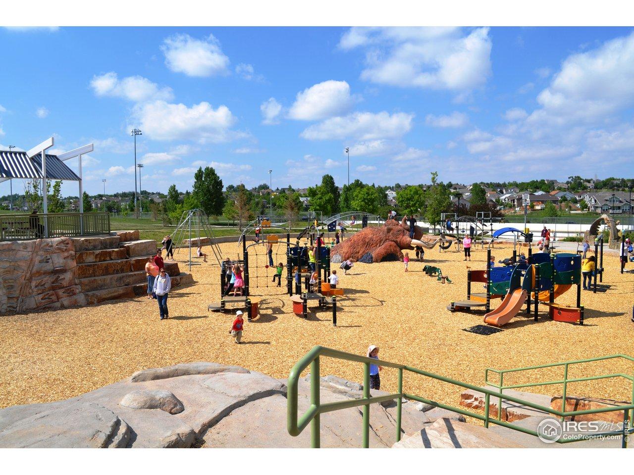 Fossil Creek Park playground