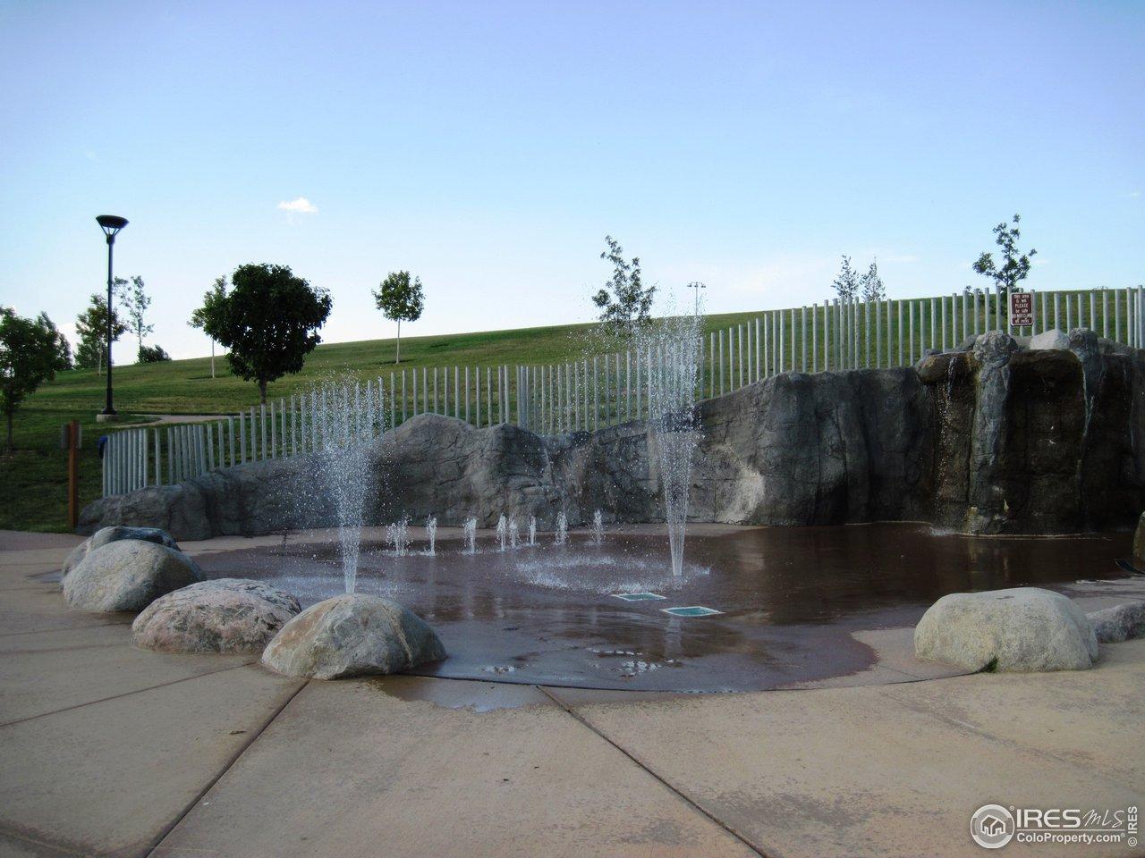 Fossil Creek Park splash pool