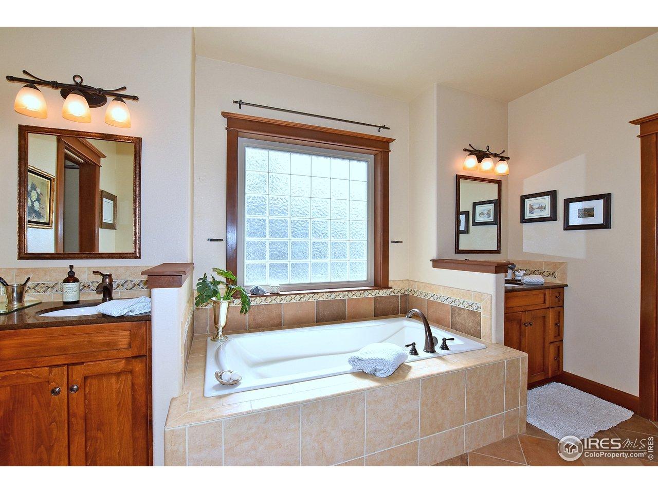 Luxury mstr bath