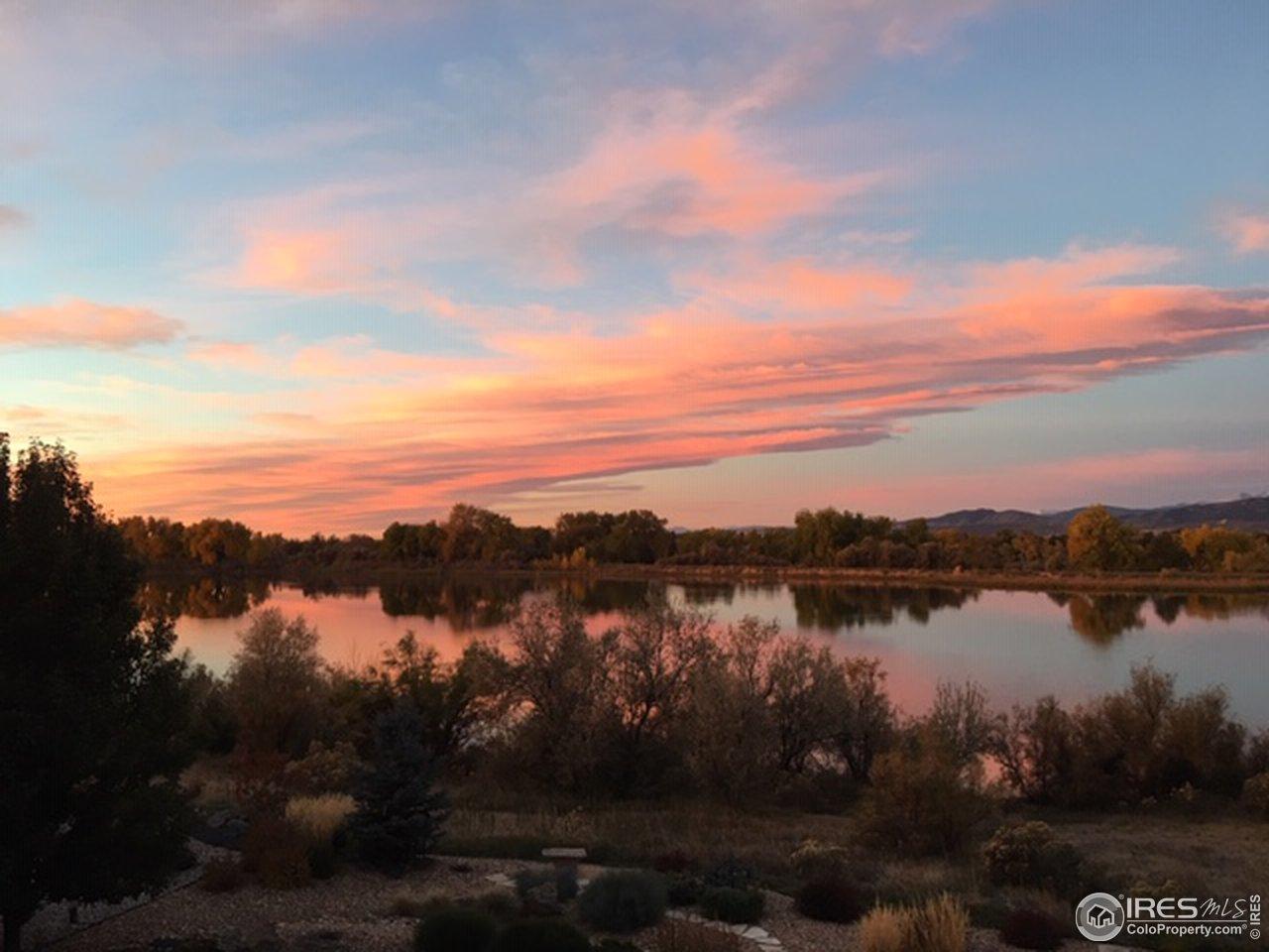 Richard's Lake sunrise