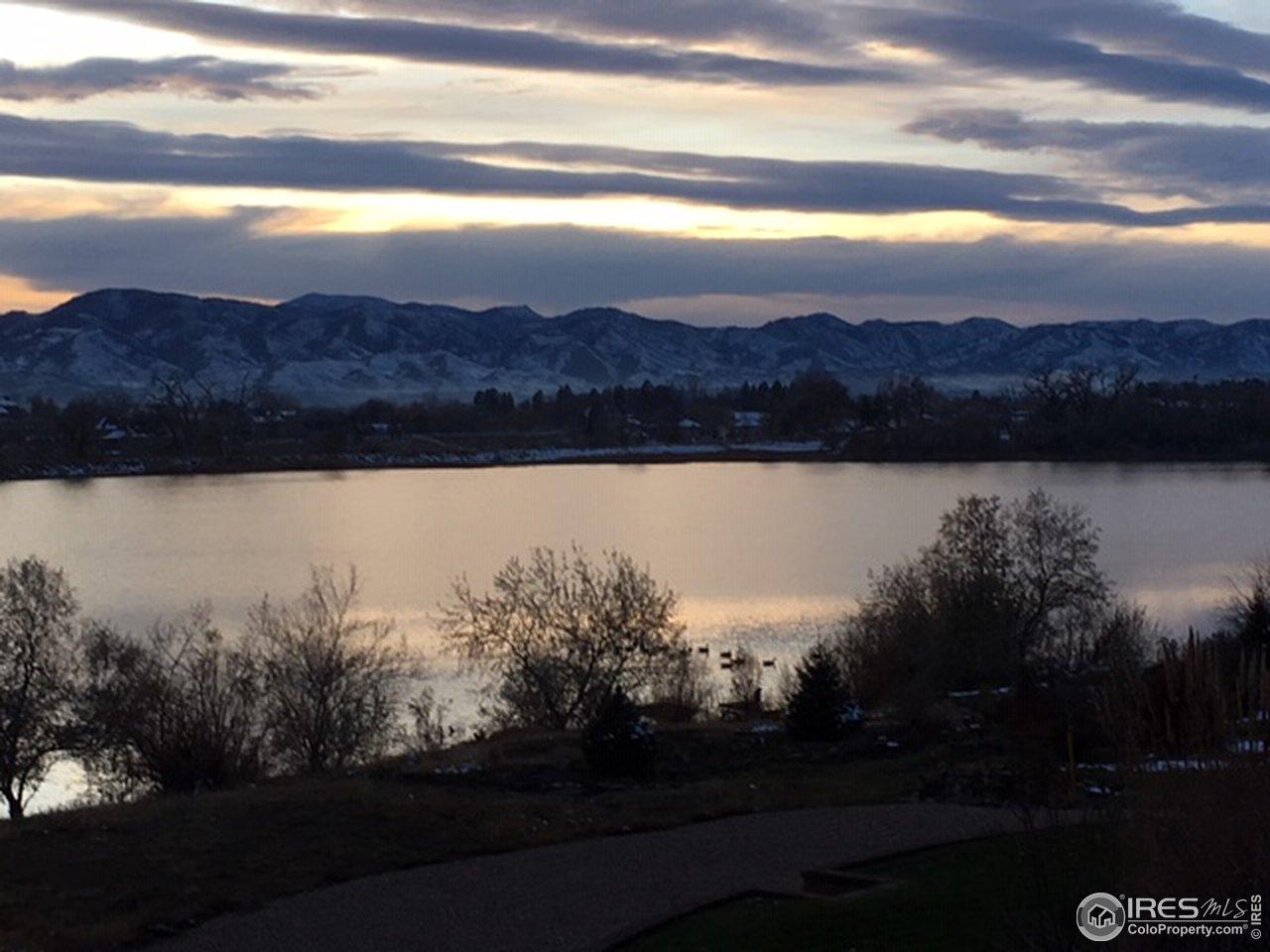 Richard's Lake at sunset