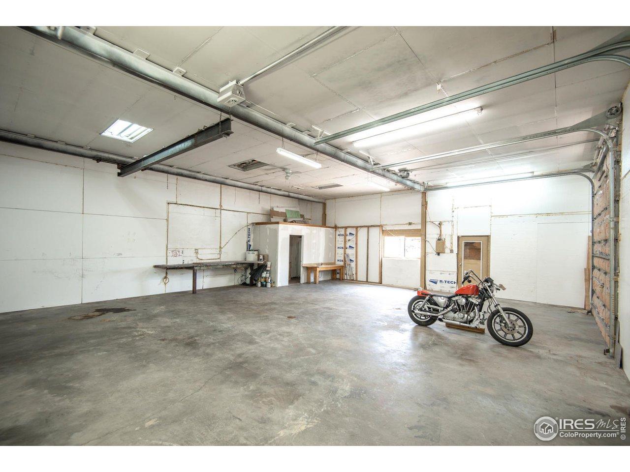 Garage/Shop East looking West