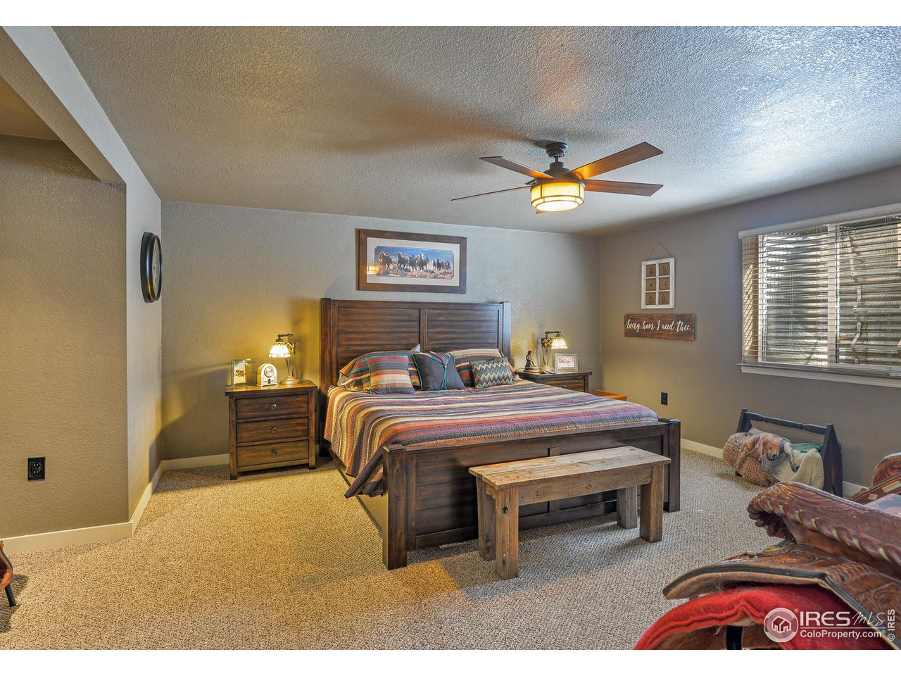 3rd Bedroom in Basement