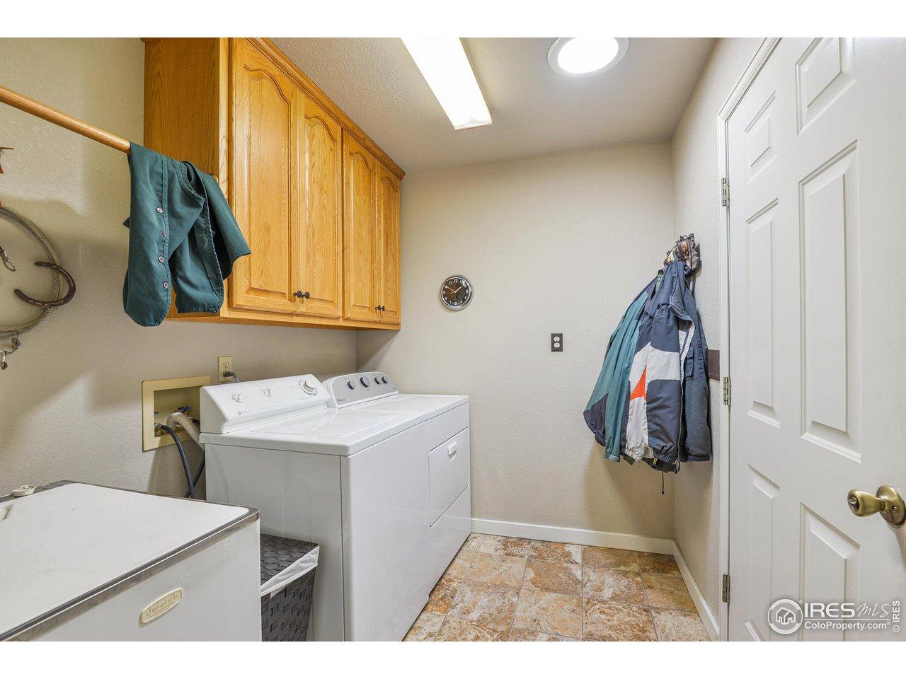 Main Level Laundry & Sink