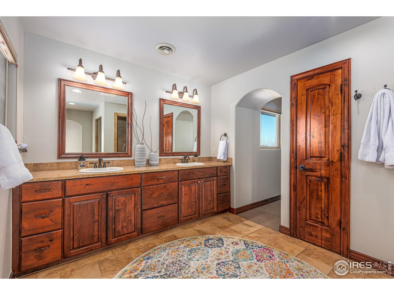 Master Bath, Heated Floors