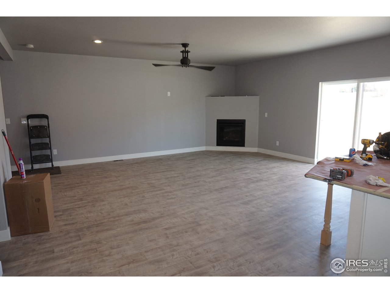 Great Room with Fireplace Option