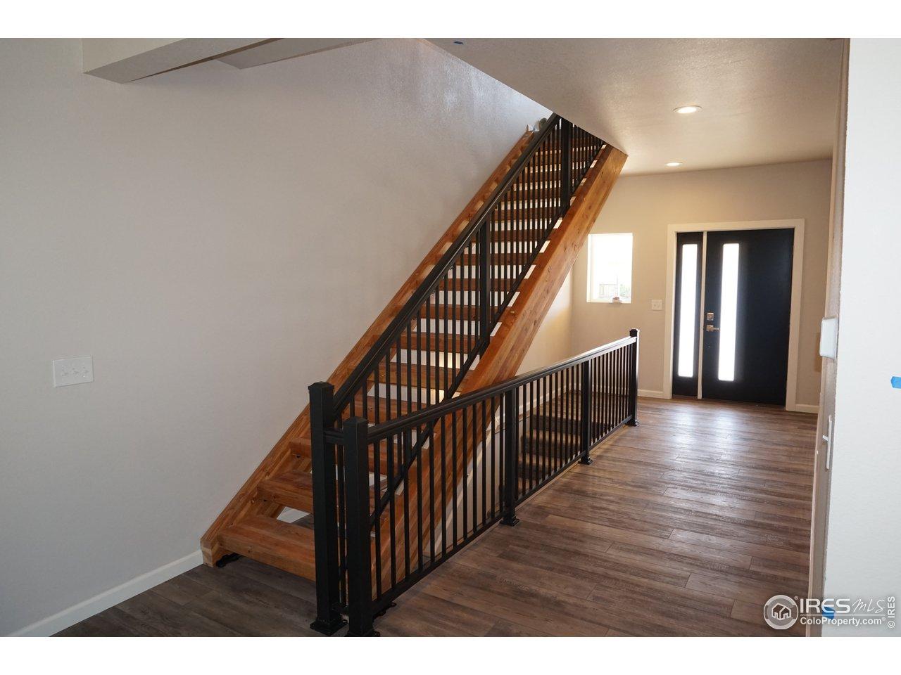 Custom Open Staircase
