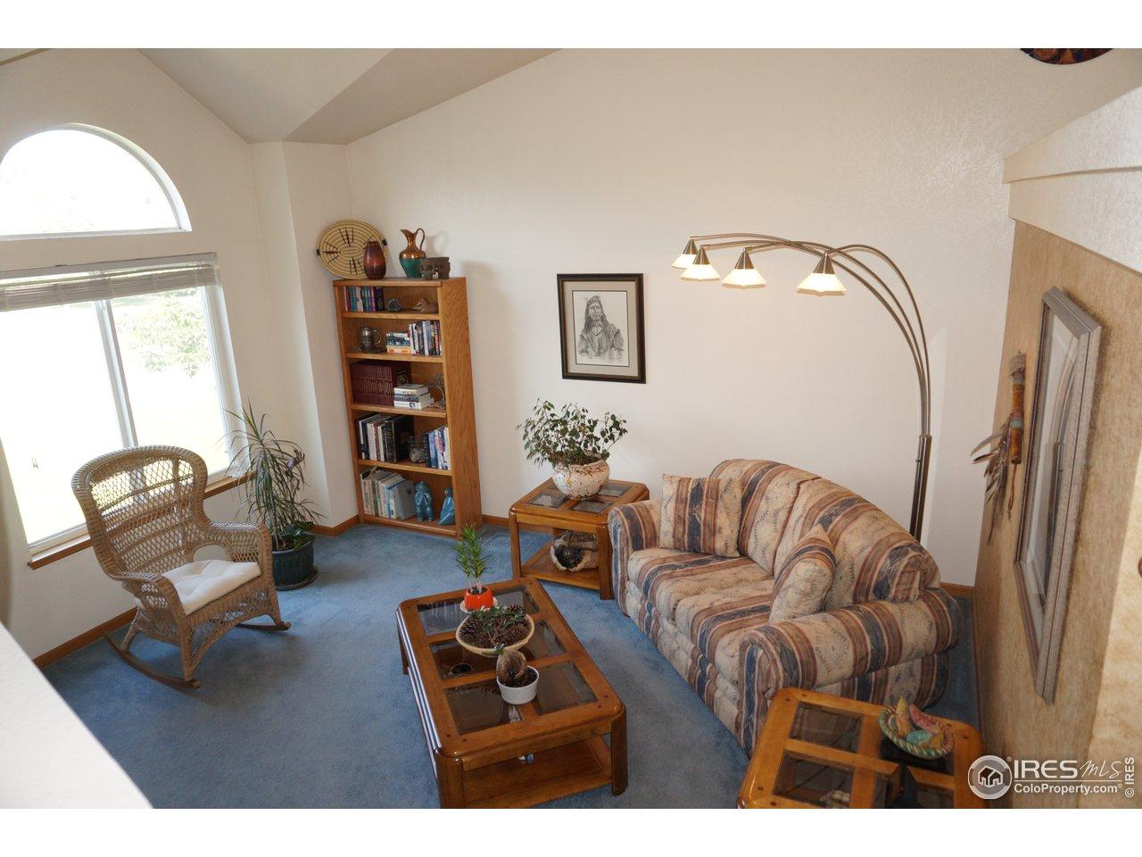 Living room Vaulted Ceilings