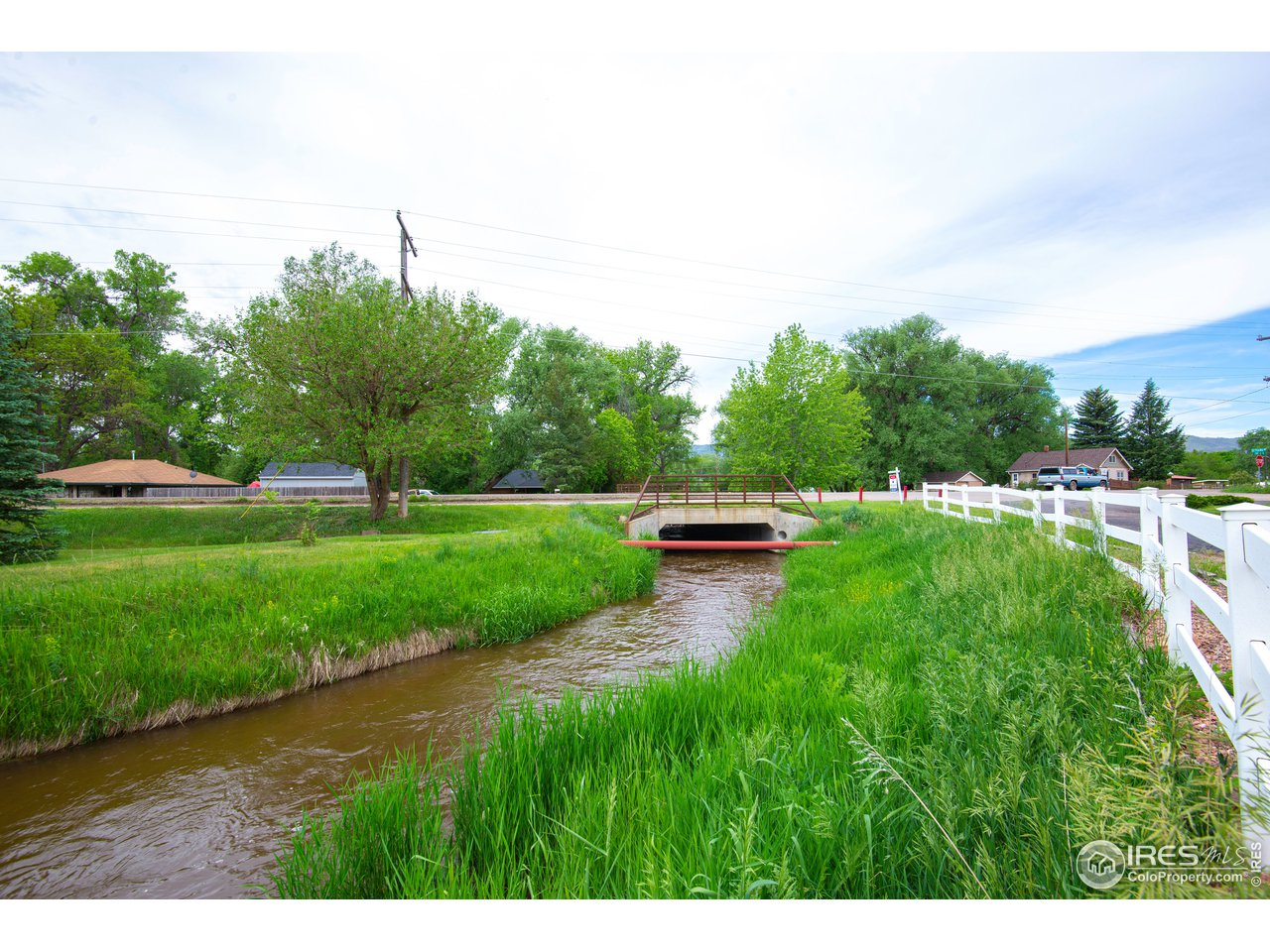Located across from the Poudre Trail
