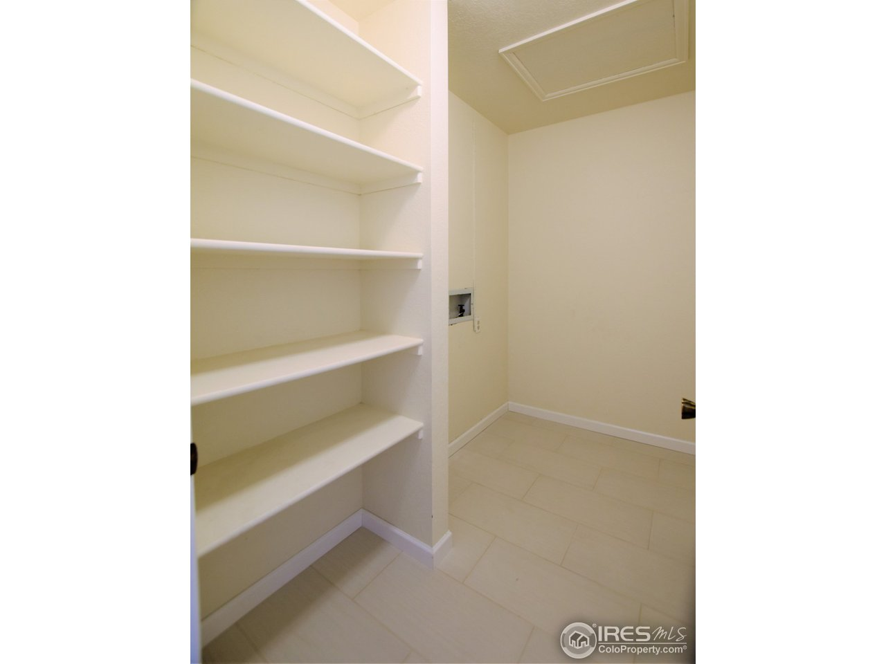 Laundry room and storage