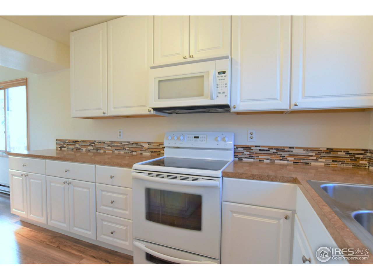 new  counters and back splash